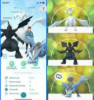 Pokemon Account - with Tao Trio - Reshiram, Zekrom & Kyurem !!