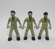 "lot 3 Bloks Call of Duty Zombies Outbreak the Walking Dead action figure 2"" #E3"