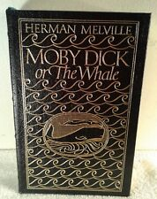 EASTON PRESS COLLECTORS, HERMAN MELVILLE MOBY DICK Ist EDITION 1st PRINTING