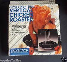 Jumbo Non-Stick Vertical chicken roaster by Progressive International Corp