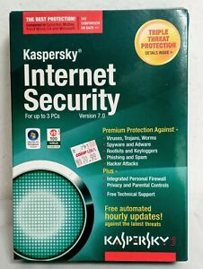 Kaspersky Internet Security Version 7.0 for up to 3 PC's