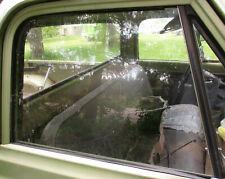 1971 chevrolet truck original passenger door window glass and channel RH C10