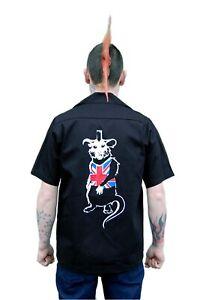 Punk UK Mens Work Shirt by Tiger of London