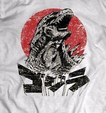 Godzilla Vintage Japanese T-Shirt Full Front Dtg Design * Many Sizes*