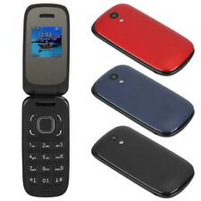 1.44in Large Buttons Small Flip Cell Phone w/ BT Vibrating Mobile Phone SHG
