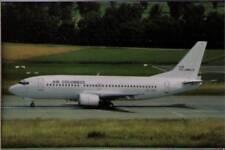(wgi) Airplane Postcard: Air Columbus, Boeing 737-33A