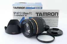 Tamron AF 17-50mm f2.8 LD XR Di II SP Nikon Fast ship FedEx N Mint] #207A 426