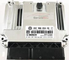 COMPUTER ECU VW TIGUAN 1.4 03C906016CQ 0261S07016 / WARRANTY