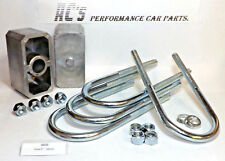 "2"" / 50mm Ford Leafspring Lowering Block Kit - (GE22) GRAYSTON QUALITY"