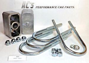"Ford 2"" / 50mm Leafspring Lowering Block Kit - (GE22) GRAYSTON QUALITY"