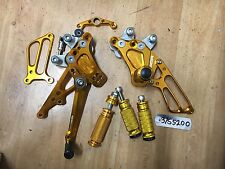SUZUKI GSXR1000 2009 BABY FACE REAR SETS USED LOT37 37S5200 M620