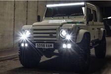 Land Rover Defender Quad DRL Bumper ** BILLETTES entoure **