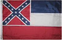 3x5 ft Mississippi Flag 3x5 Feet House Banner Grommets Super Polyester PVC
