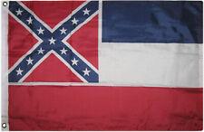 2x3 Mississippi Flag 2'x3' House State Banner Brass Grommets Super Polyester