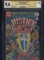 All-Star Comics #66 CGC 9.6 3x SS Paul Levitz, Joe Staton, & Bob Layton 1977