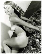 Akt Vintage Foto - leicht bekleidete Frau aus den 1950er/60er Jahren(82) /S200