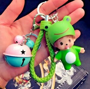 Cute Doll Key Ring with Bell