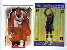 1998-99 SP AUTHENTIC RC VINCE CARTER MT NBA2K + 1998 ENCORE UPPER DECK RC MT