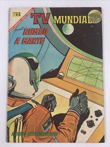 1967 SPANISH COMICS TV MUNDIAL # EXTRAORDINARIO RUMBO A MARTE NOVARO MEXICO