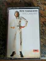 "PETE TOWNSHEND - ""Who Came First"" Cassette Tape, England Import Paper Labels!!"
