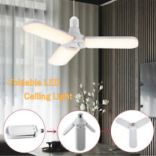 Super Bright Foldable LED Indoor Light Deformable Ceiling Light for Home Garage