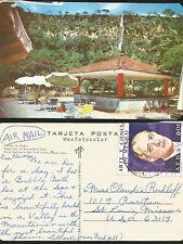 J) 1973 MEXICO, POSTCARD, ART AND SCIENCE OF MEXICO, LUIS ENRIQUE ERRO, SNACK BA