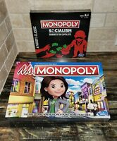 Hasbro Ms. Monopoly Women Make More & Monopoly Socialism A Parody Of The Classic
