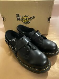 Dr Martens Fulmar Women's Black Shoes New Buckle Detail Leather Boxed UK 4