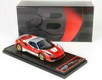 Ferrari 488 Pista Spider - Tetto Chiuso Speciale Versione Lauda scala 1/43