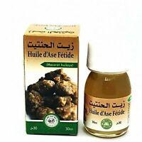 Huile Ase Fétide véritable 100% Bio - fetid ase oil for roqya charya 30 ml