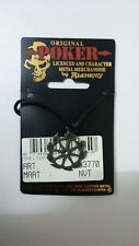 Shelter Wheel logo SUPER RARE Poker Alchemy Carta Vintage metal music necklace