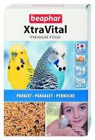 BEAPHAR XTRA VITAL PREMIUM COMPLETE BUDGIE PARAKEET FOOD FEED SEED 1 KG 16308