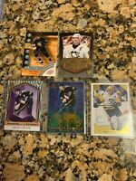 Mario Lemieux Five Card Insert Lot - Penguins Star - See Pics and Info below