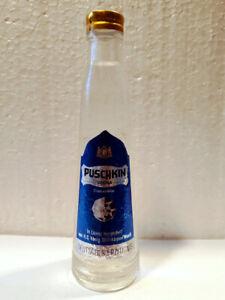Miniatur - Wodka Puschkin - König Steinhagen - Germany