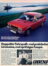 FIAT - 128-Berlinetta - 1977-pubblicità con loghi pubblicità-vintage print ad-Publicidad Vintage