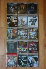 PlayStation 3 PS3 Games Lot Shadows of the Damned, Resident Evil, GTA, Red Dead