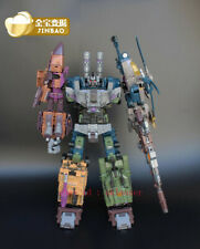Jinbao Transformers Combiner Wars Bruticus Enlarged Version Action Figure Toy