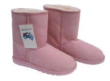 Classic Midcalf Ugg Boots Pink Australia Sheepskin Short Wool Boot New