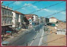 RIMINI CITTÀ 126 TORRE PEDRERA - ALBERGHI - SPIAGGIA Cartolina viaggiata 1970
