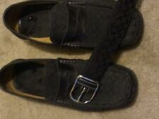 Men Coach shoes (12) and matching belt (36) No Reserve