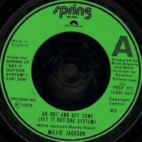 "MILLIE JACKSON go out and get some/why see you're sorry POSP 013 uk 7"" WS EX/"