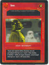 Star Wars CCG Tournament FOIL Sense DS Dark Side