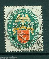 Deutsches Reich 430 , o , Nothilfe 1929