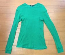Raf Simons 2008aw green thermal shirt, size 48 (fits M)
