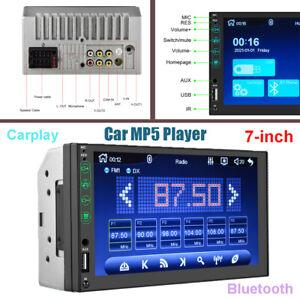 "Car 7"" Bluetooth HD Touch Screen Radio Audio D-Play Reversing Video MP5 Player"
