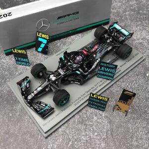 Spark 1/43 Mercedes Benz AMG Petronas 2020 F1 W11 GP Turkish Winner L. Hamilton