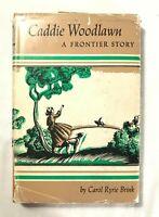 1935 Caddie Woodlawn A Frontier Story 1935 by Carol Ryrie Brink HC DJ Macmillan