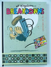 Breakdowns: Portrait del artista como% @ *! - de tipo Spiegelman (duro cover) Top