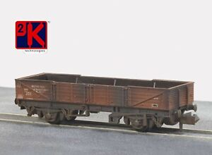 Peco NR-7EW BR Ferry Tube Wagon BR Bauxite, Weathered Livery 'N' Gauge - T48Post