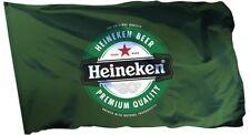 Heineken Beer Flag Banner 3x5ft Man Cave Decor Sticker Gift Pub Drink Saturday